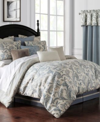 Florence 4 Piece Comforter Set, Queen