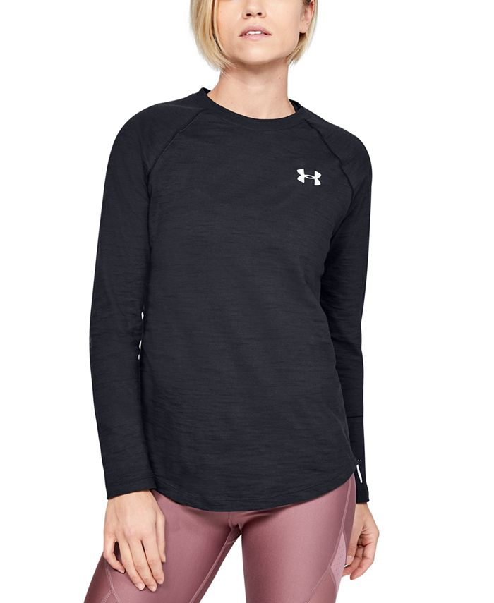 Under Armour - Charged Cotton® Adjustable Long-Sleeve T-Shirt