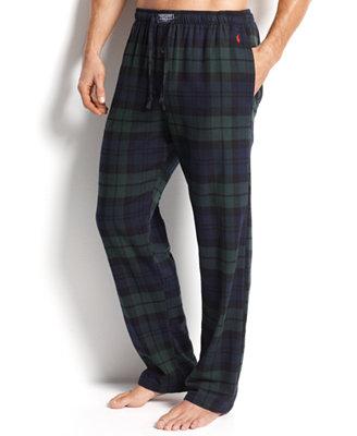 Polo Ralph Lauren Men s Sleepwear Big and Tall Flannel