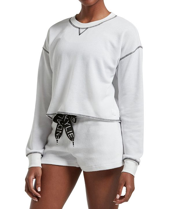 Kendall + Kylie Cropped Lounge Top, Online Only