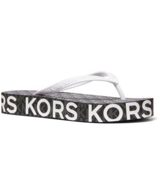 Michael Kors Joey Flip-Flop Sandals