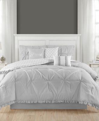 Jessica Ruffled 7 Piece Full Comforter Set