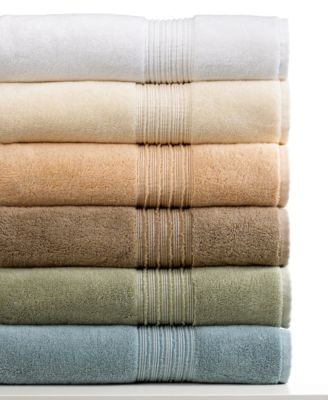 "Hotel Collection Bath Towels, Turkish 13"" Square Washcloth"