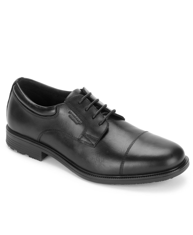 Rockport Men's Essential Details Waterproof Cap-Toe Oxford & Reviews - All Men's Shoes - Men - Macy's