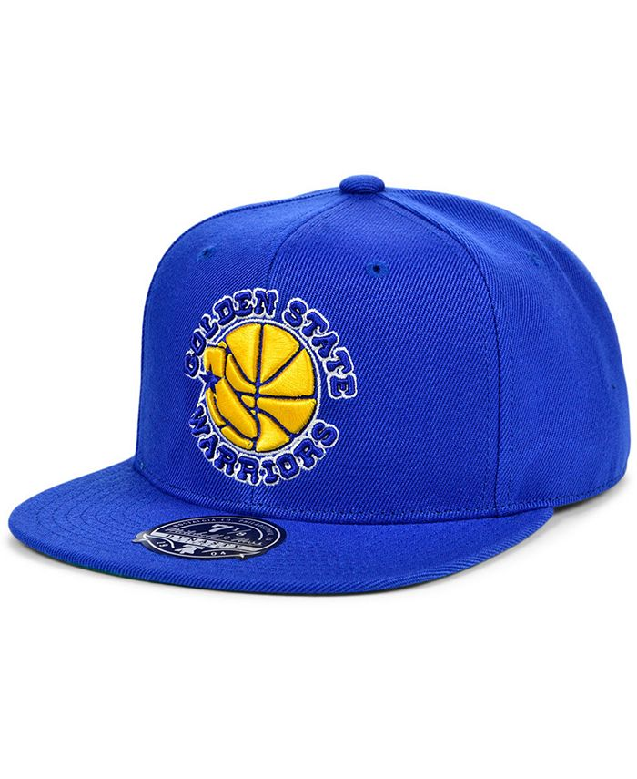 Mitchell & Ness - Golden State Warriors Team Ground Fitted Cap