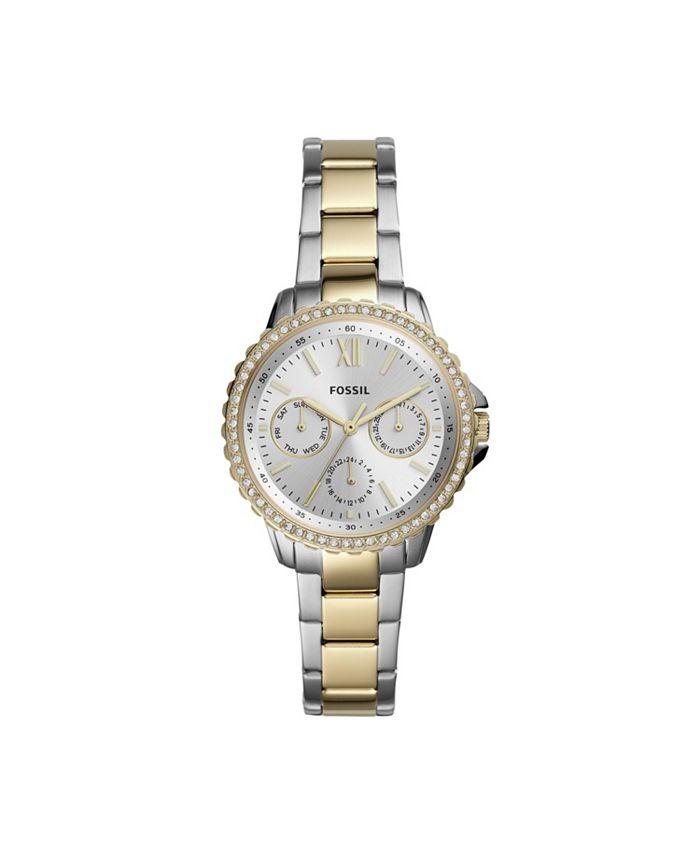 Fossil - Women's Izzy Two-Tone Bracelet Watch ES4784