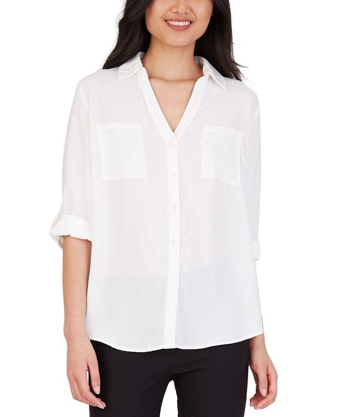 BCX - Juniors' Collared Shirt