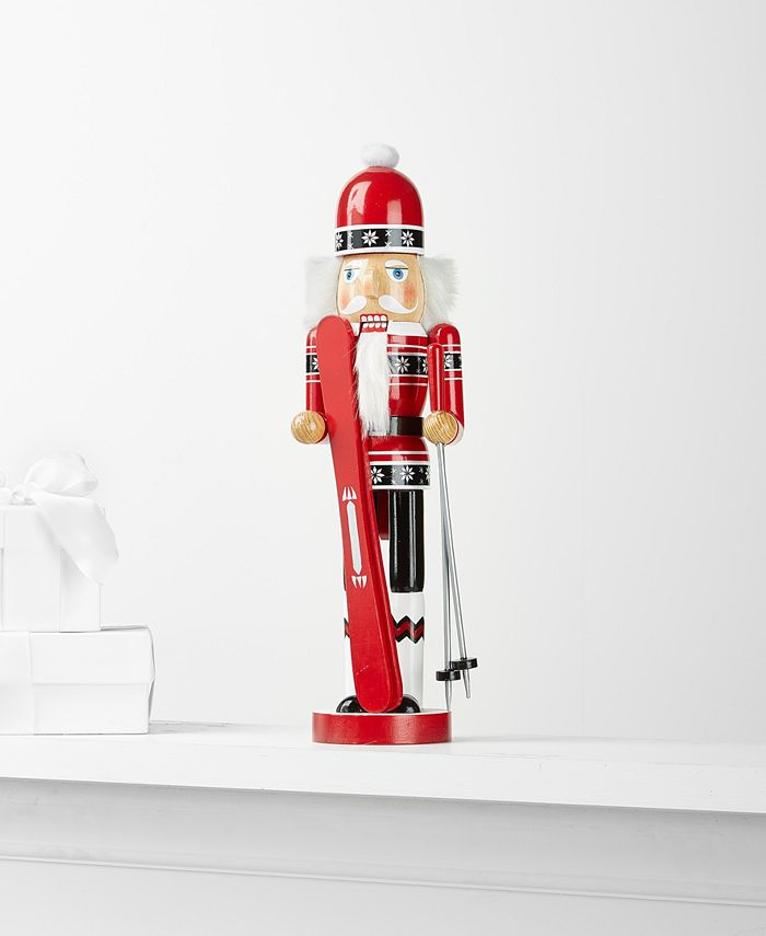 Holiday Lane - Holiday Collection Skiing Nutcracker