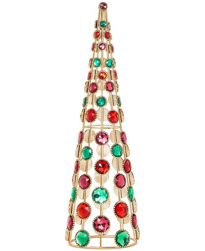 Holiday Lane Evergreen Dreams Jeweled Tree, Created for Macy's