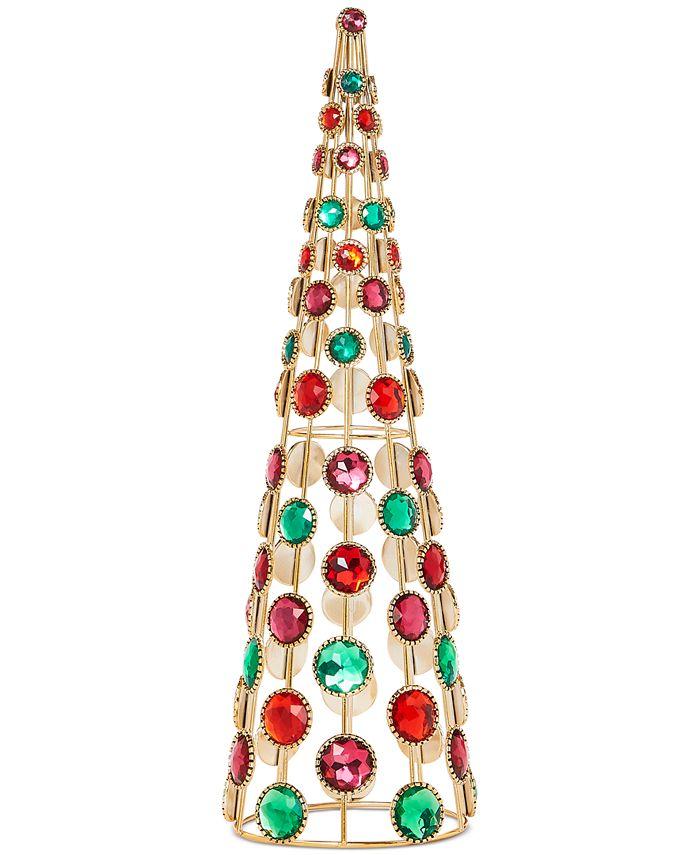 Holiday Lane - Evergreen Dreams Jeweled Tree, Created for Macy's