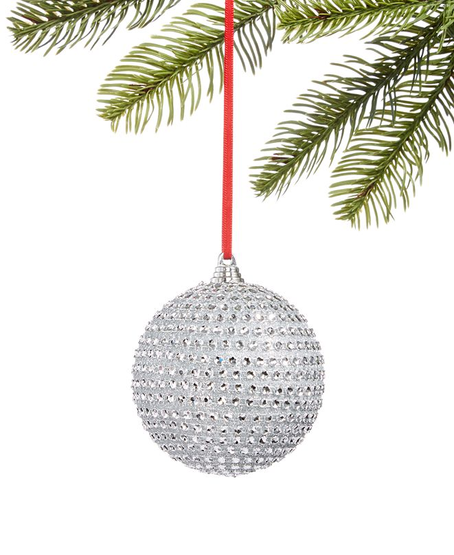 Holiday Lane Shine Bright Christmas Tree Ornament, Created for Macy's