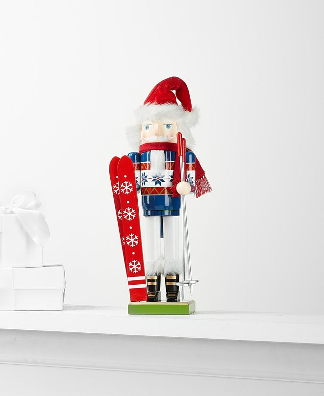 Holiday Lane Skier Nutcracker, Created for Macy's