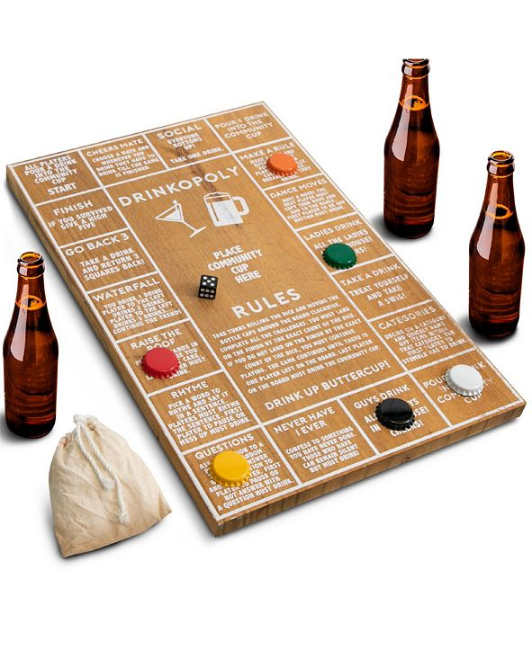 Hammer + Axe Drinkopoly Board Game