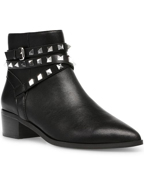 anfitriona Aguanieve Corteza  Steve Madden Women's Besto Studded Ankle Booties & Reviews - Boots - Shoes  - Macy's