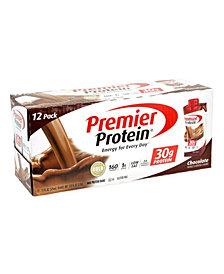 Premier Protein Chocolate Protein Shake, 11 oz, 12 Count