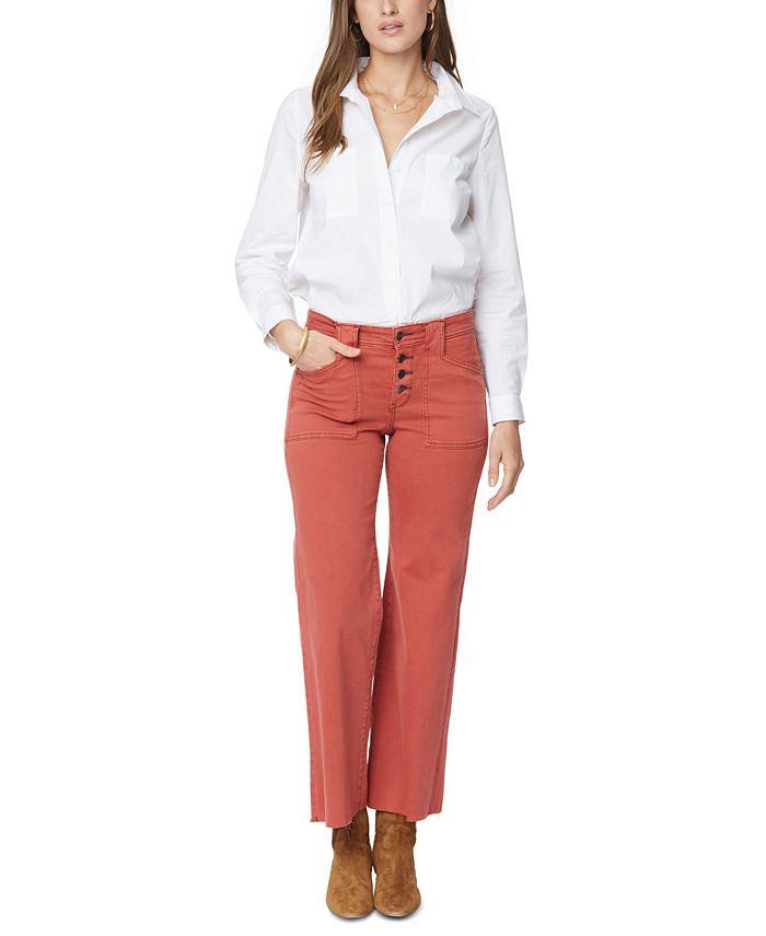 NYDJ - Teresa Wide-Leg Ankle Jeans