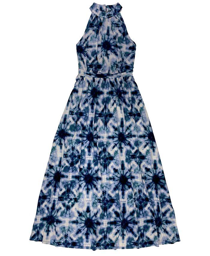 Inc International Concepts Inc Petite Solar Mirage Printed Halter Maxi Dress Created For Macy S Reviews Dresses Petites Macy S