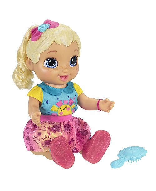 Baby Alive Baby Grows Up Dreamy Blonde Reviews Home Macy S
