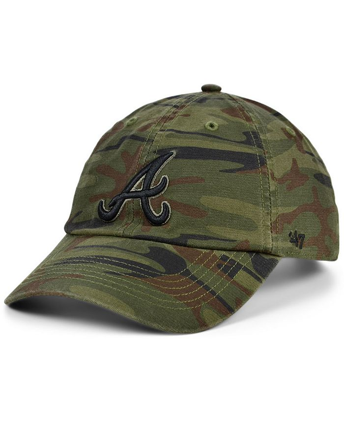 '47 Brand - Atlanta Braves Regiment CLEAN UP Cap