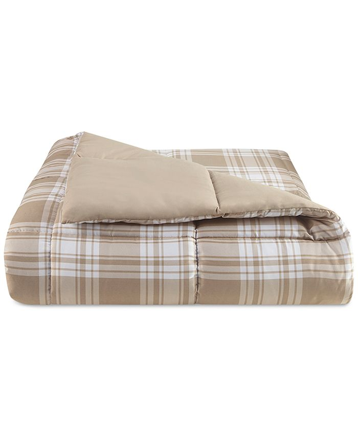 Martha Stewart Collection - Reversible Plaid Full/Queen Comforter