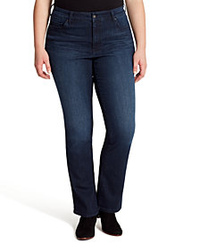 Jessica Simpson Trendy Plus Size Truly Yours Bootcut Jeans
