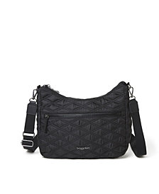 Baggallini Women's Quilted Convertible Hobo