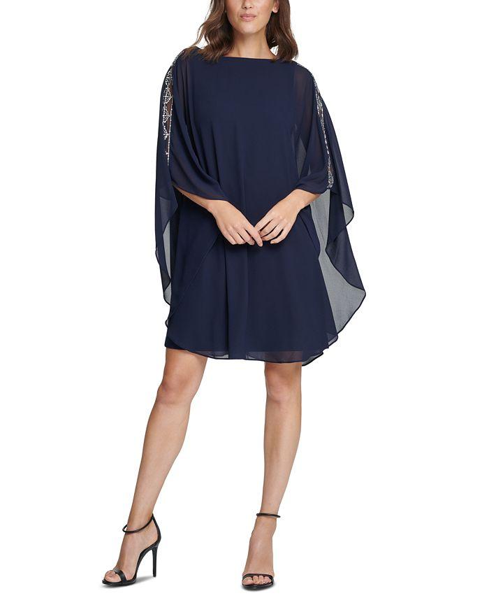 Vince Camuto - Embellished A-Line Dress
