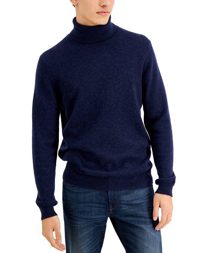 Tasso Elba - Men's Cashmere Turtleneck Sweater