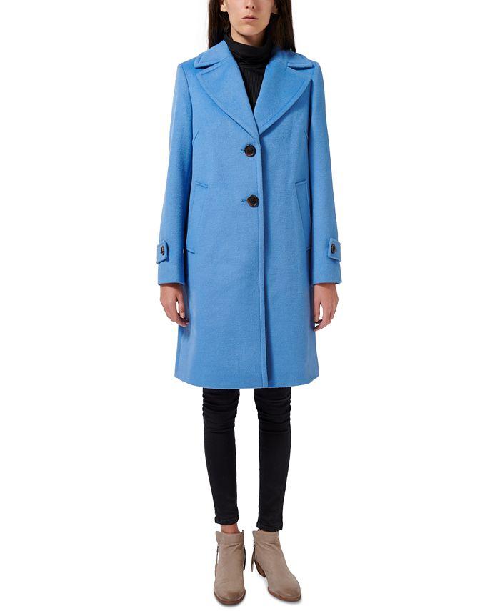 Sam Edelman - Single-Breasted Reefer Coat