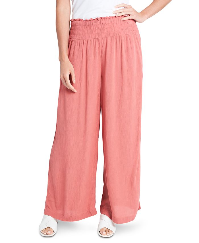 1.STATE - Smocked Pull-On Pants