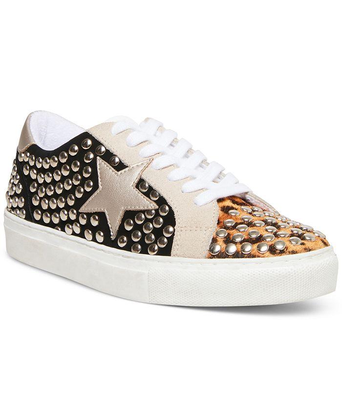 Steve Madden - Women's Turner-S Studded Star Sneakers