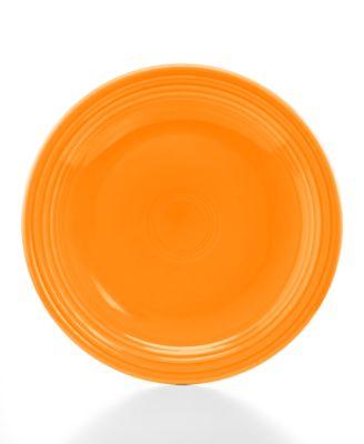 """Fiesta Tangerine 10.5"""" Dinner Plate"""