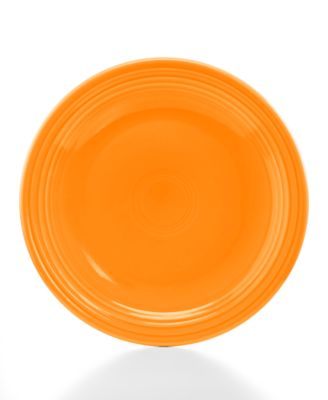 "Fiesta Tangerine 9"" Luncheon Plate"