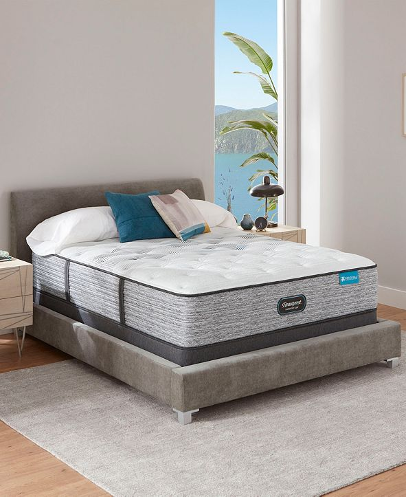 "Beautyrest Harmony Lux Carbon 13.75"" Plush Mattress - Queen"