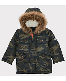 Rothschild Baby Boys Parka with Sherpa