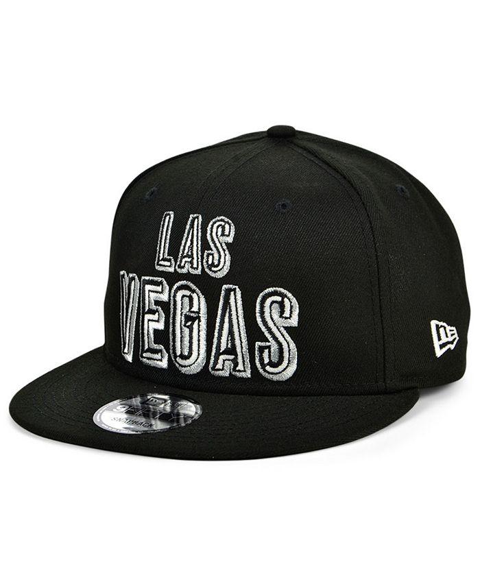 New Era - Las Vegas Raiders Stacked Wordmark 9FIFTY Cap