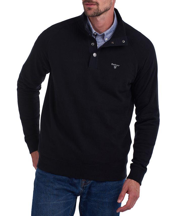 Barbour - Men's Half-Snap Sweater