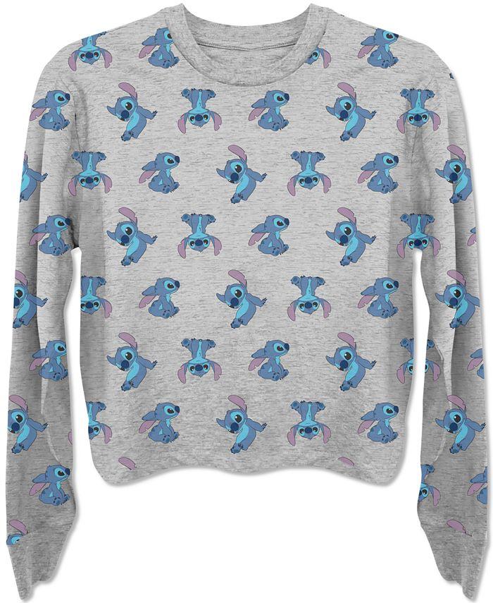 Disney - Juniors' Stitch Sweatshirt