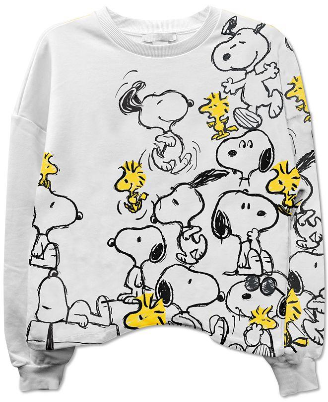 Freeze 24-7 Juniors' Peanuts Sweatshirt