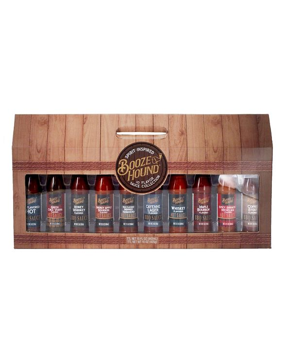 Booze Hound Boozy Sauce Collection - 10 Pieces