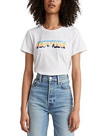 Levi's® Cotton Printed-Logo T-Shirt