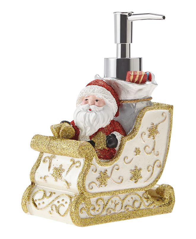 JLA Home Santa's Sleigh Holiday Lotion Pump