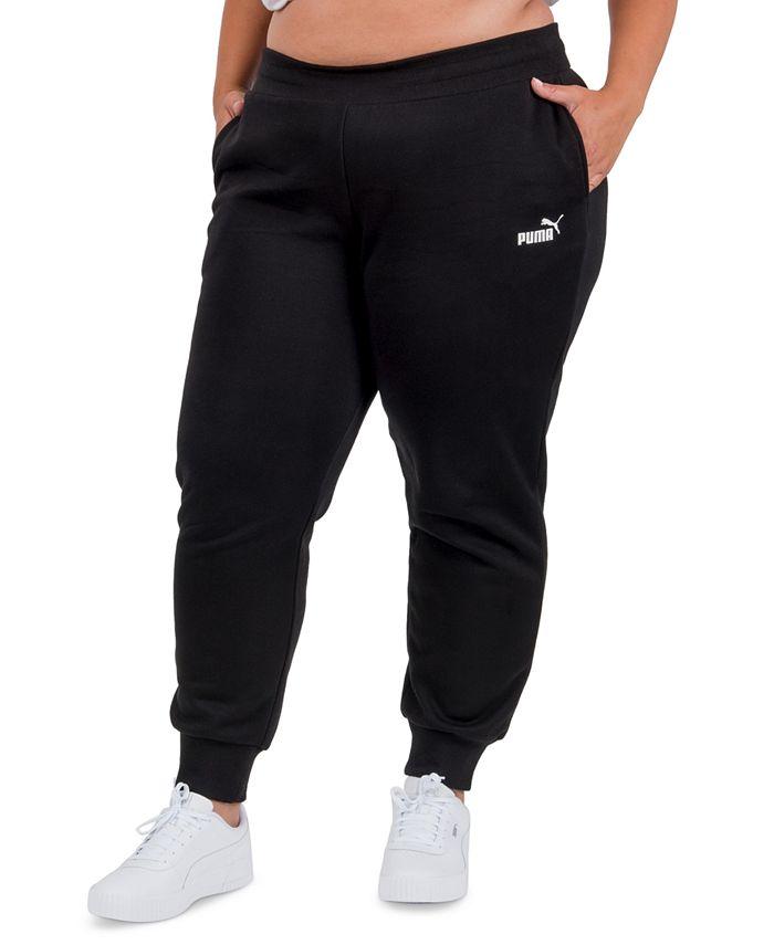 Puma - Plus Size Fleece Jogger Pants