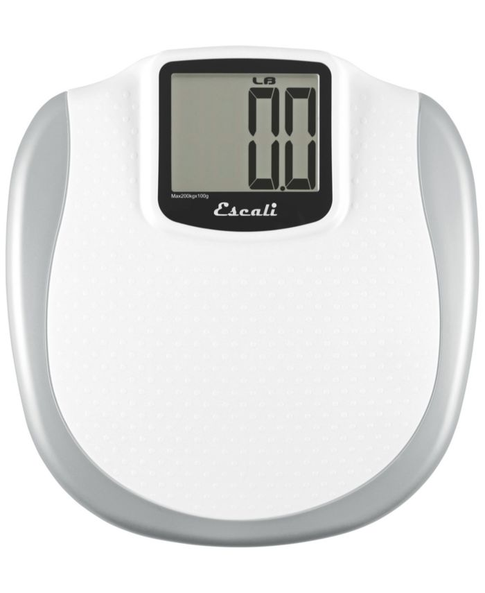 Escali Extra Large Display Bathroom Scale, 440lb & Reviews - Home - Macy's