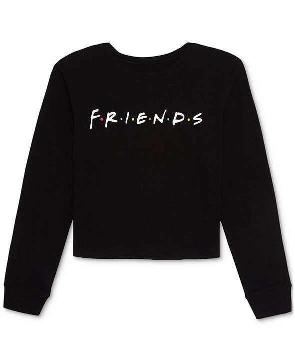 Warner Brothers Juniors' Friends Basic Long-Sleeve T-Shirt