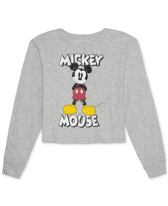 Disney Juniors' Mickey Mouse Long-Sleeve T-Shirt