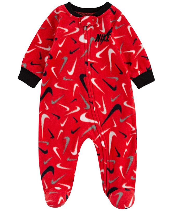 Nike Baby Boys Microfleece Footed Coverall