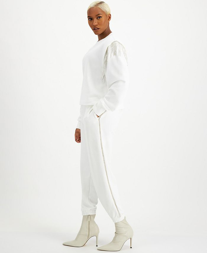 INC International Concepts - Side-Stripe Joggers
