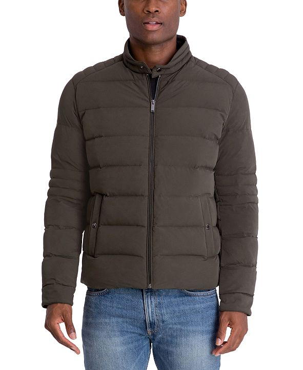 Michael Kors Men's Hipster Stretch Puffer Jacket
