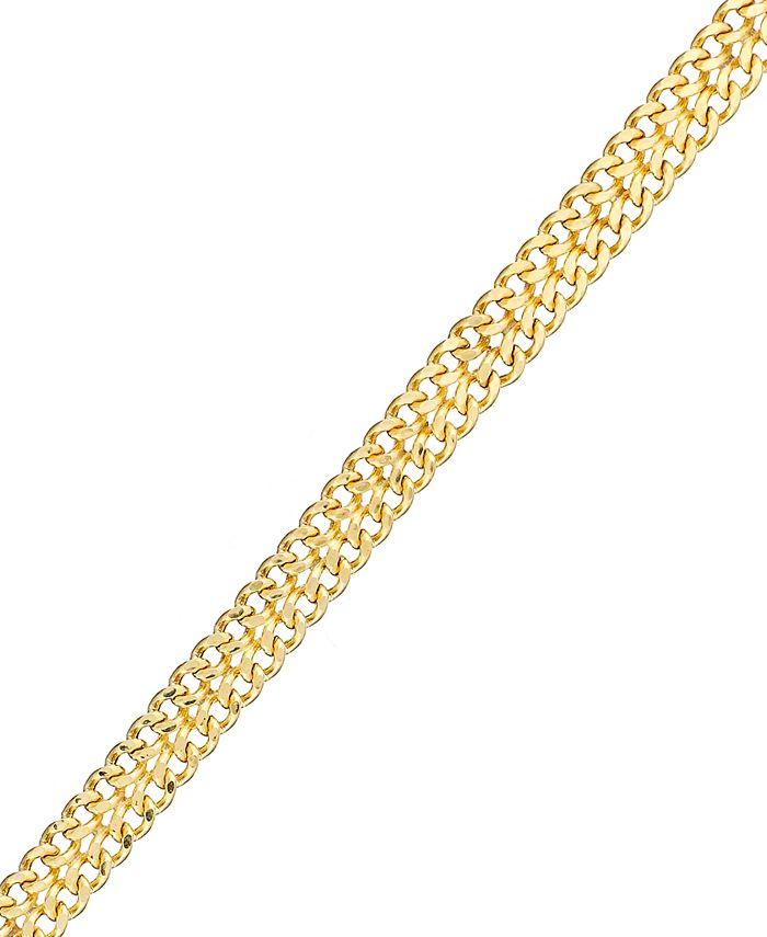 Macy's - 10k Gold Bracelet, Mesh Link Bracelet